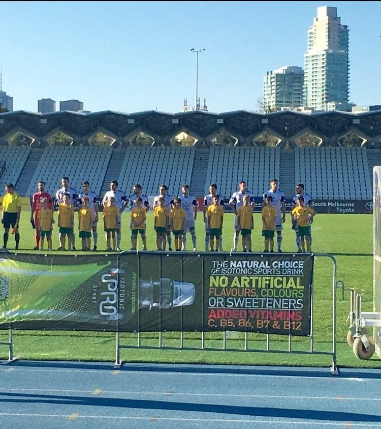 MPFC Under 11 Kangaroos at South Melbourne FC Match